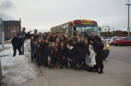 Winter Camp Students from Brazil visited  UOIT – University of Ontario Institute of Technology