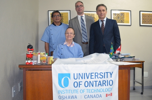 Visit with University of Ontario Institute of Technology, UOIT to College Lato Sensu, Manaus Brazil